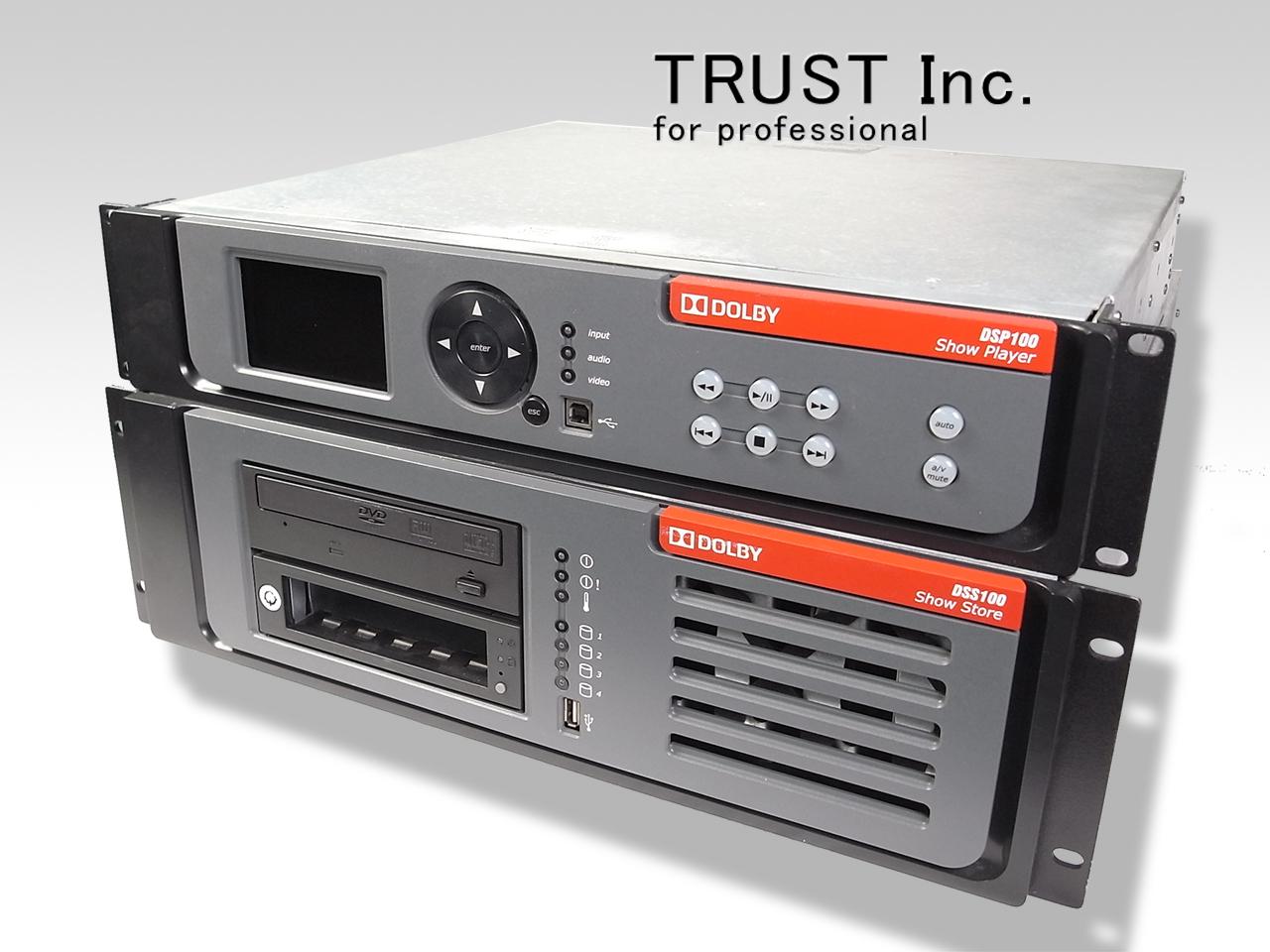 DSP100/DSS100 / Dolby Digital cinema server system【中古放送用・業務